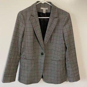 H&M checked blazer, size 8